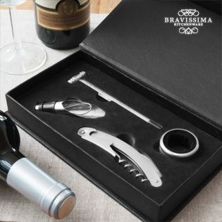Bravissima Kitchen Set Of Wine Accessories 4 Pieces Buy At