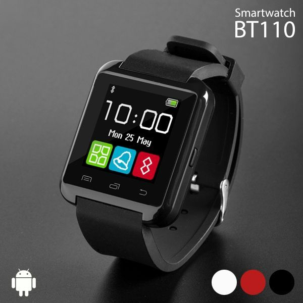 smartwatch bt110 intelligente armbanduhr mit audio zum. Black Bedroom Furniture Sets. Home Design Ideas