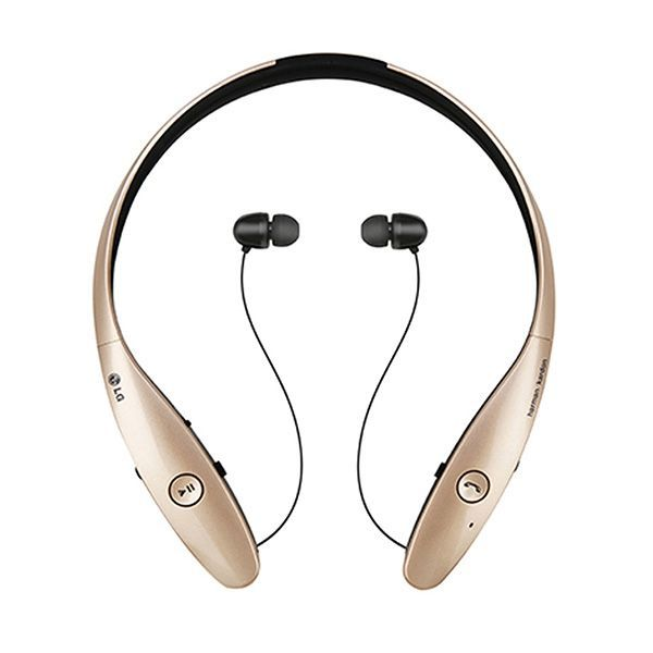 Bluetooth Headset With Microphone Lg Tone Infinim Hbs 900 Golden Buy At Wholesale Price