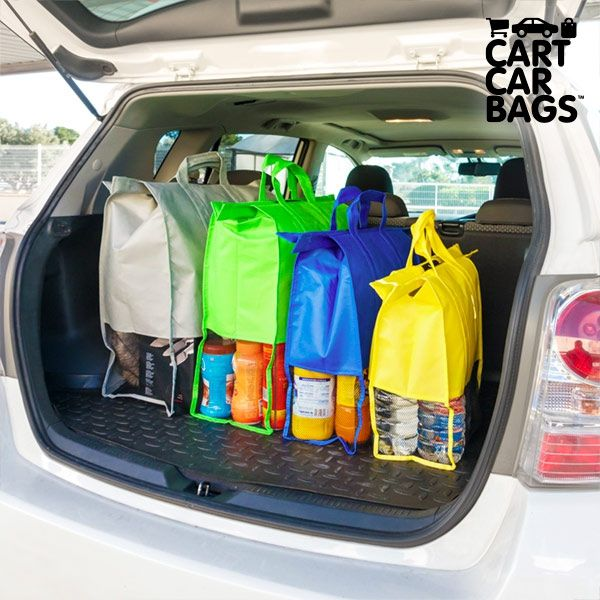 Offer Cart Car Car Boot Carriers Bags For Shopping Pack Of 4 Buy