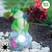Grenouille Solaire Décorative Oh My Home
