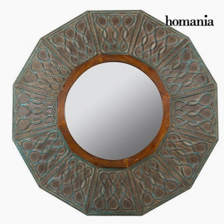 Miroir Rond Bronze Collection Vintage by Homania