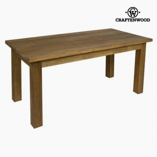 Dining Table Teak Mdf Brown   Be Yourself Collection By Craftenwood