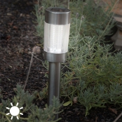 Lampe Solaire Inox Oh My Home