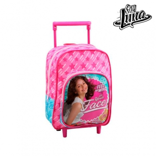 bd6d4a1d2ed School Rucksack with Wheels Soy Luna 1872