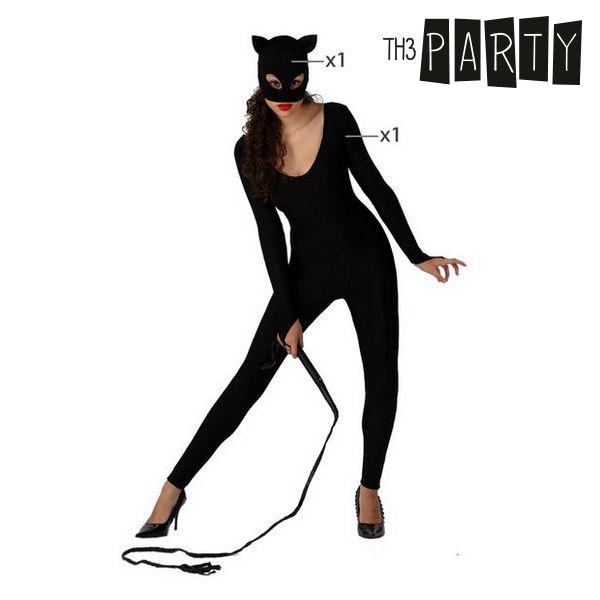 čierna mačička dostane Biely kohút