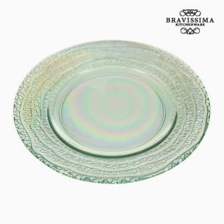 Lautanen kierrätettyä lasia (20 x 20 x 2 cm) by Bravissima Kitchen ... c7fa136151