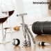 InnovaGoods Screwpull Set of Wine Accessories with Corkscrew (4 Pieces)