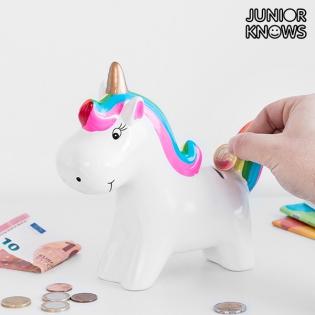 Junior Knows Ceramic Unicorn Money Box