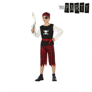7756306e Kostyme barn Pirat Rød   Kjøp til engrospris