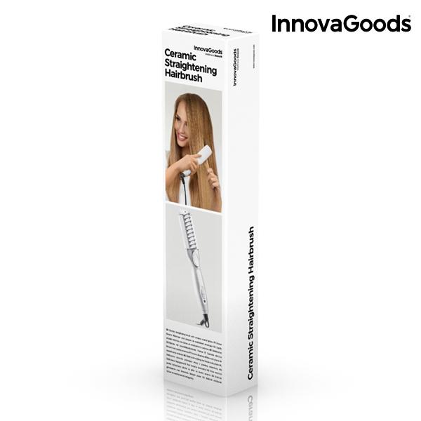 ... Электрощетка для Выпрямления Волос InnovaGoods 25 Вт a98e78e653c74