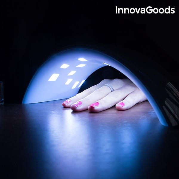 Lampada led uv professionale per unghie innovagoods for Lampada uv per tartarughe acquatiche prezzo