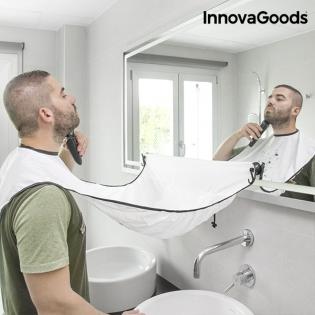 Babero Recogebarba con Ventosas InnovaGoods