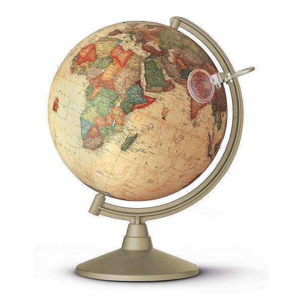 Globus Mit Beleuchtung Und Lupe | Alter Terraqueo Globus Mit Licht Und Lupe 26 Cm Nova Rico