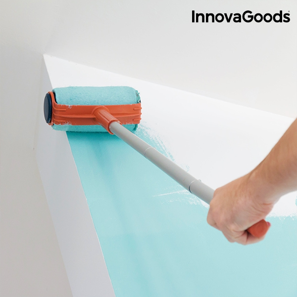 Set de rodillos para pintar recargables antigoteo InnovaGoods (6 ...