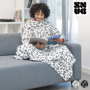 Symbols Snug Snug Big Kangoo Blanket with Sleeves