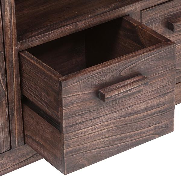 Mueble TV Madera de mindi (140 x 40 x 50 cm) by Craftenwood ...