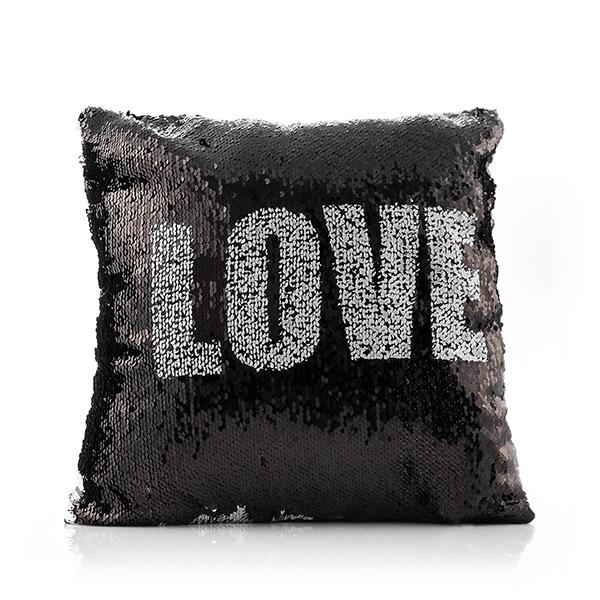 ... Love   Heart Loom In Bloom Mágikus Flitteres Sellő Párna ... c2772460f6