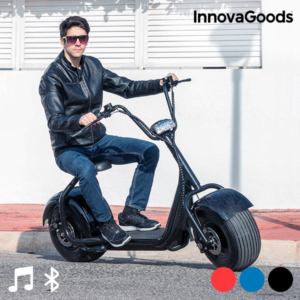 scooter lectrique chopper innovagoods acheter prix de gros. Black Bedroom Furniture Sets. Home Design Ideas