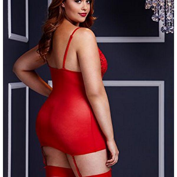 47a7effa92 Mini sukienka podwiazkami do ponczoch bez majtek typu leopard rozmiar  krolewski baci lingerie redqs jpg 600x600