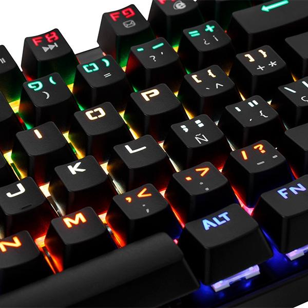 ... Gaming Tangentbord  OR  Speltangentbord Mars Gaming MK4MINIR LED Röd ... 44e1bb729ed06