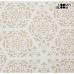 Възглавница (60 x 60 x 10 cm) Памук и полиестер Бежов