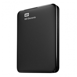 Disco Duro Western Digital WD Elements Portable WDBUZG0010BBK-WESN 1 TB 2,5