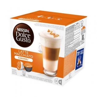 Kaffeekapseln Mit Etui Nescafe Dolce Gusto 24191 Latte Macchiato 16