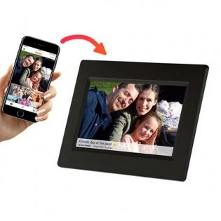 Digital Photo Frame Denver Electronics PFF 710B 7 8 GB WIFI Black
