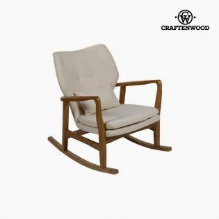 Sedia Dondolo In Legno.Sedia A Dondolo Legno Di Olmo 88 X 53 X 54 Cm By Craftenwood