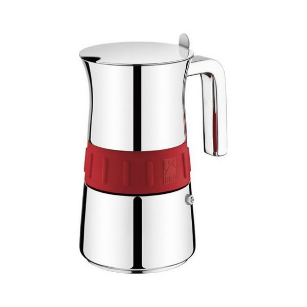 Cafetera Italiana BRA A170567 (6 tazas) Acero inoxidable