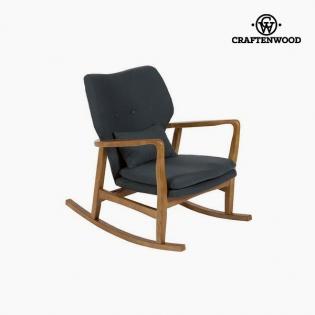 Sedia a Dondolo Legno di olmo (88 x 53 x 54 cm) by Craftenwood ...