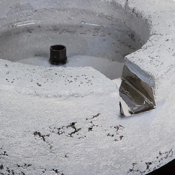Fontaine de jardin Résine Gris (36 x 30,5 x 22 cm) by Craftenwood ...