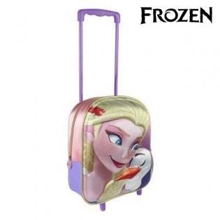 b6ed7baec1 Školská taška na kolieskach 3D Frozen 8065