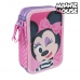 Plumier Triple Minnie Mouse 3608 Rosa
