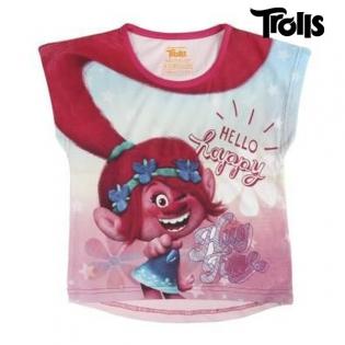 9701329a1d7 Παιδικό Μπλούζα με Κοντό Μανίκι Trolls 8682 (μέγεθος 3 ετών ...