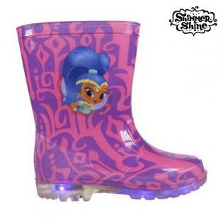 a41ac4a8736083 Stivali da pioggia per Bambini Shimmer and Shine 6315 (taglia 26 ...