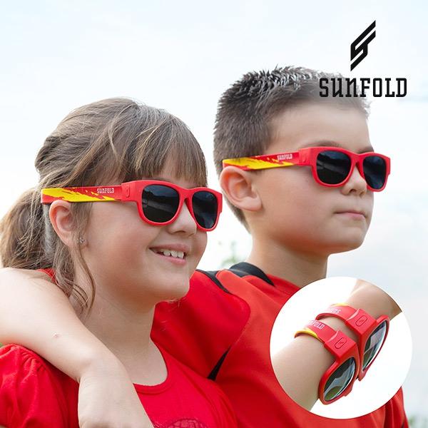 df53e1754fd1 Sunfold Kids Verdensmesterskab Foldbare Solbriller til Børn ...