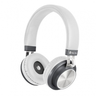 Bluetooth Headset With Microphone Ngs Articapatrolwhite White Buy At Wholesale Price