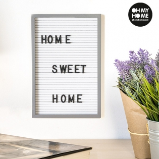 Oh My Home Frame For Letters And Numbers 16 X 22 Cm Buy At