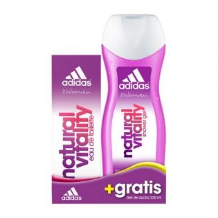 Set Parfum Femme Natural Vitality Pcs De Adidas2 R35jq4AL