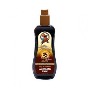 Zaščitni sprej za sonce Instant Bronzer Australian Gold SPF 15 (237 ml)