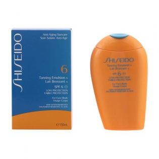 Bronzer Tanning Shiseido Spf 6 (150 ml)