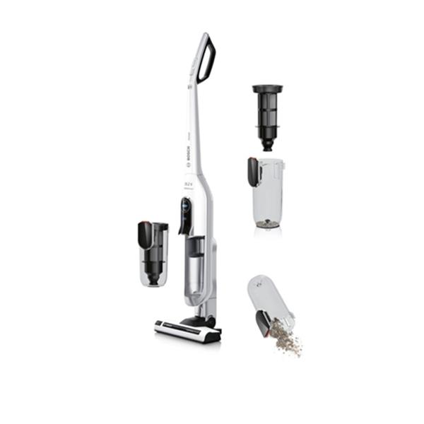 Scopa Elettrica Senza Fili Bosch.Scopa Elettrica Senza Sacchetto Senza Fili Bosch Bbh625w60 A 0 9 L 2400w Bianco