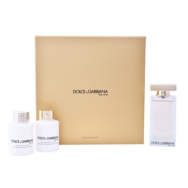 1766b4bda4 Set de Perfume Mujer The One Dolce & Gabbana EDT (3 pcs) | Comprar a ...