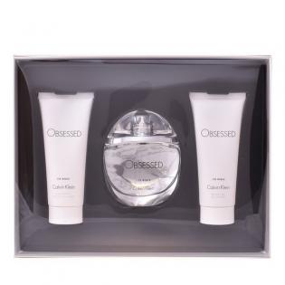 Set De Parfum Femei Obsessed For Women Calvin Klein 3 Pcs