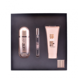 30ec4cf13 Conjunto de Perfume Mulher 212 Vip Rosé Carolina Herrera (3 pcs ...