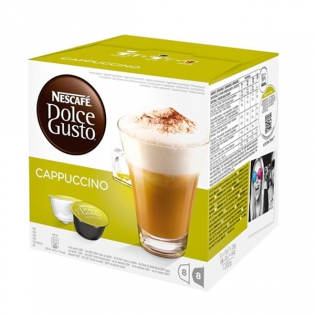 Kaffeekapseln Mit Etui Nescafe Dolce Gusto 98492 Cappuccino 16 Uds