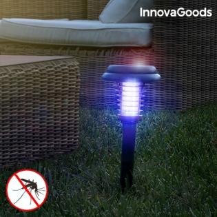 Lampe Solaire Anti-Moustiques pour Jardin SL-700 InnovaGoods
