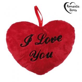 """Vásárolj 26 centiméteres """"I love You"""" feliratú piros szív párnát ... c5dbd8f34c"""